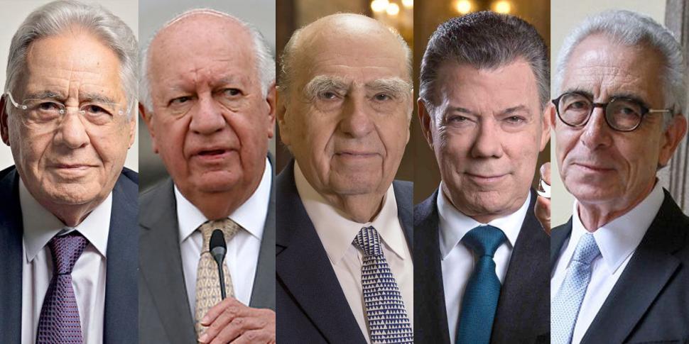 Ex presidentes latinoamericanos critican la candidatura de EE.UU ...